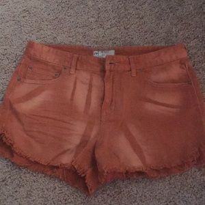 Free People cutoff shorts!